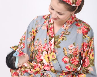 Mother Amp Baby Matching Robes Elder Daughter Robe Ankle