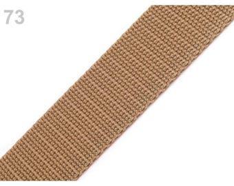 Strap 73 - 30 mm polypropylene beige sand