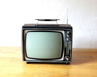 Retro Television, Philips X12T, Old Television, Old TV, Tv Decor, Old Monitor, Tv Collector Gift, Camping Tv, Philips Tv, Portable Tv