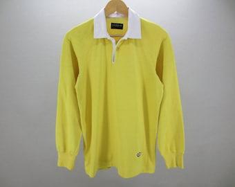 Adidas Shirt Vintage Adidas Polo Shirt Long Sleeves Rugby Men's JASPOL