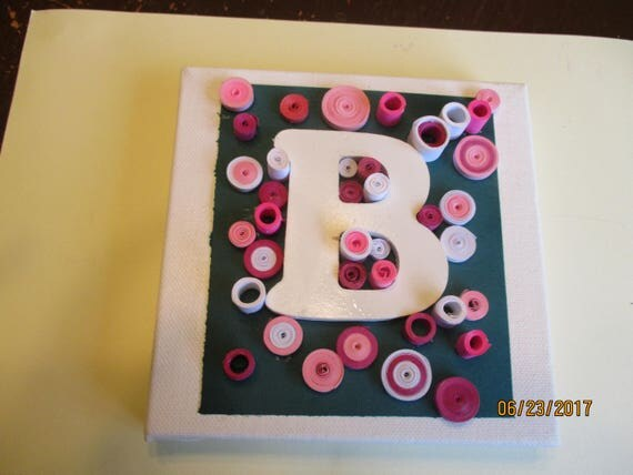 letter decor letter b quilled monograms paper quilling quilled
