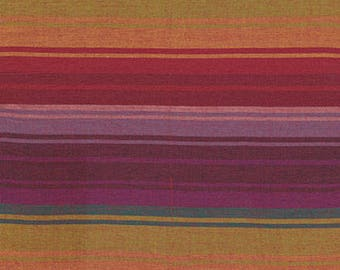 EXOTIC STRIPE WARM Woven wexotic.warmx by  Kaffe Fassett fabric sold in 1/2 yard increments