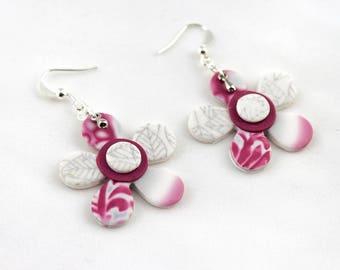 Frozen Flower Earrings