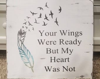 Your Wings Where Ready
