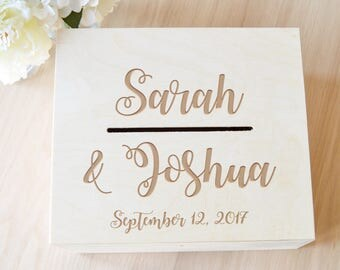 wedding card box wedding card holder rustic card box custom card box