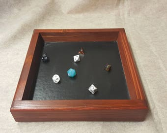 Dice tray large (wooden)