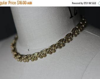 ON SALE Golden Grape Costume Jewellery Necklace