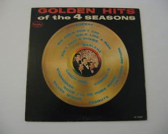 Rare Vinyl! - The Four Seasons - Golden Hits - Rare Vee Jay Release - Circa 1963