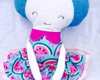 Doll blue