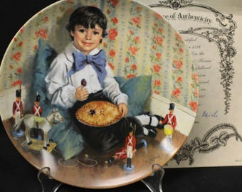 Reco - Little Jack Horner Plate   1982