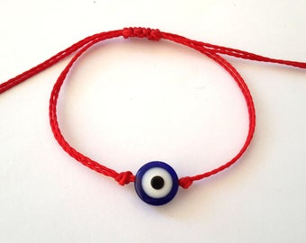 Red String Bracelet,Protection Eye Bracelet, Kabbalah Bracelet