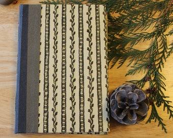 05 GROWTH - hand-bound artist's sketchbook