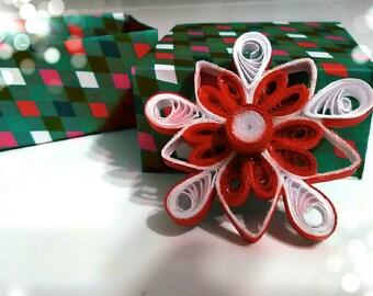 Snowflake, Christmas decoration, Christmas tree decoration