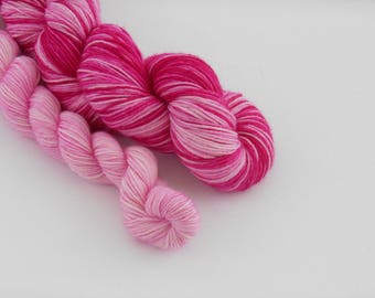 LOVE SOCK self-striping, 009, merino nylon sock yarn,100g
