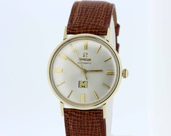 14K Goldfilled Omega Automatic Wrist Watch 1960s