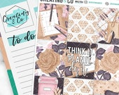 Boss Babe Weekly Planner Kit for No-White Space and White Space Planners  - WK07