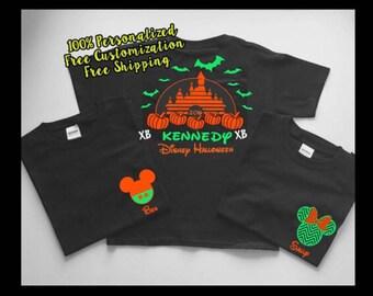 Disney Halloween Shirts, Disney World Halloween Shirts, Disneyland Halloween Shirts, Halloween Family Disney Shirts