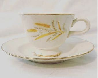 Golden Harvest Cup & Saucer