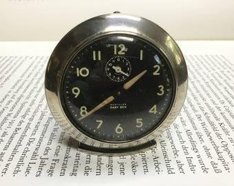 Vintage Baby Ben Westclox alarm clock chrome 40s