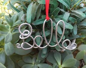 Personalized ornament, Christmas ornament, custom name ornament, tree ornament, unique gift