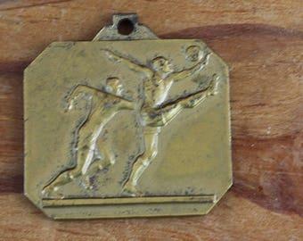 Antique football medal Vemmel kampioen Gemmente 1970-1971