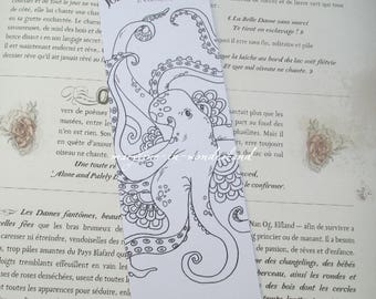 coloring brand Octopus coloring page