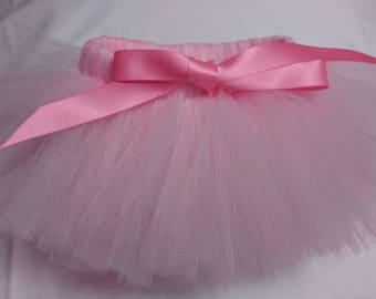 Pink and Light Pink Dog Tutu, Pink Dog Tutu, pink pet tutu, dog tulle tutu, pet tulle tutu, dog tutu skirt, pet tutu skirt