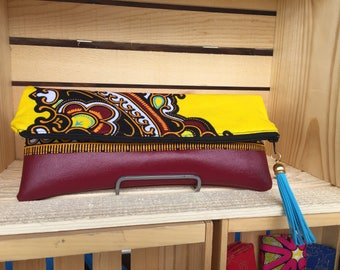 African Print Fold Over ClutchAfrican Print Clutch Purse, Foldover Clutch, Clutch, Gifts for her,Purse,Bag