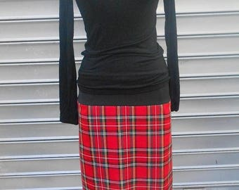 cotton or wool sweater and skirt set rock and roll so british