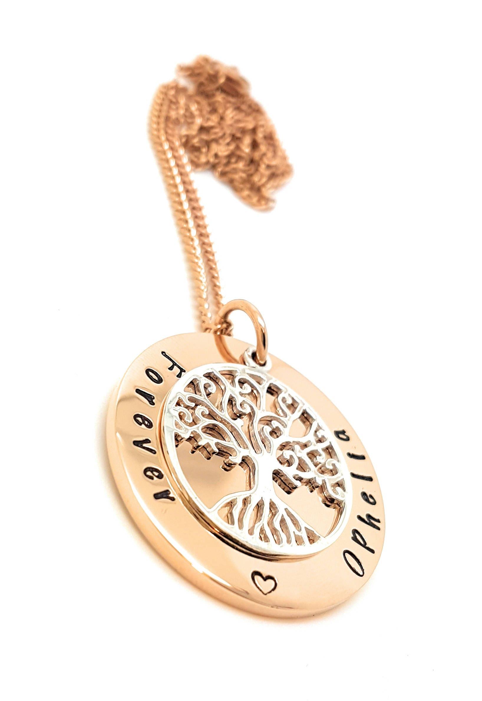 Family names tree of life pendant personalised jewellery hand gallery photo gallery photo gallery photo aloadofball Images