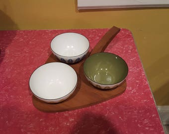 Cathrineholm Lotus Bowls and Tray