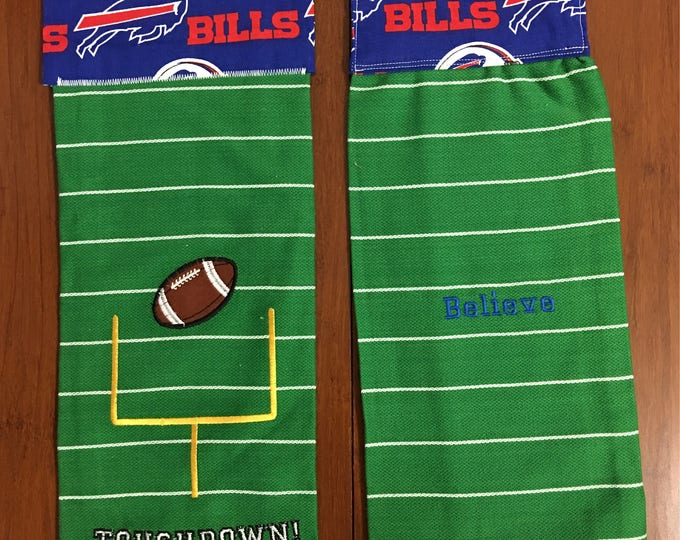 Billieve towels / love my Buffalo sport / two in each set / will not mix