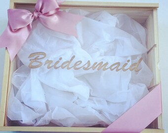 Bridal Personalised Gift Boxes