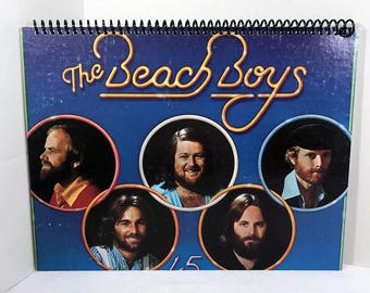 Beach Boys Album Cover Notebook Handmade Spiral Journal