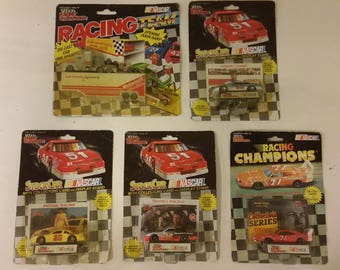 Vintage Nascar Racing Champions Stock Cars 1:64 scale collectible cars, 1991 & 1992