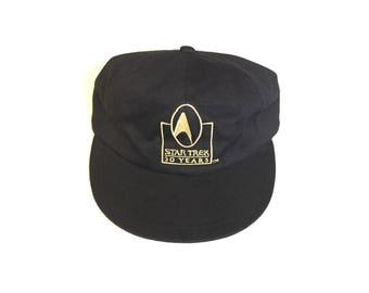 1996 Star Trek 30 year annoversary 1966 Snapback Snap back Strapback hat One Size Adult Unisex cotton 90s hat cap