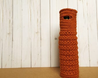 Crochet Wine Bottle Tote (Bag, Cozy, Sleeve, Holder)