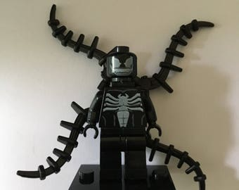 VENOM - Marvel Comics - Lego Compatible / Custom Minifigure / Cake Topper