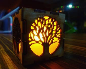 Small Tree of Life Lamp