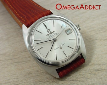 Constellation Omega Vintage Men's Automatic Chronometer #C004