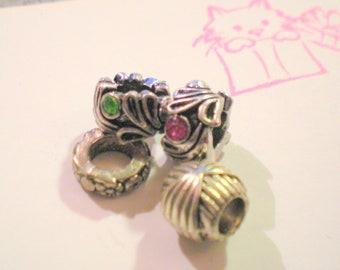 Set of 4 beautiful European beads