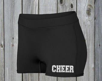 Cheer Compression Shorts 2.5 Inch Inseam