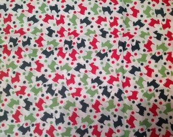 2 full Yards Scottie Fabric