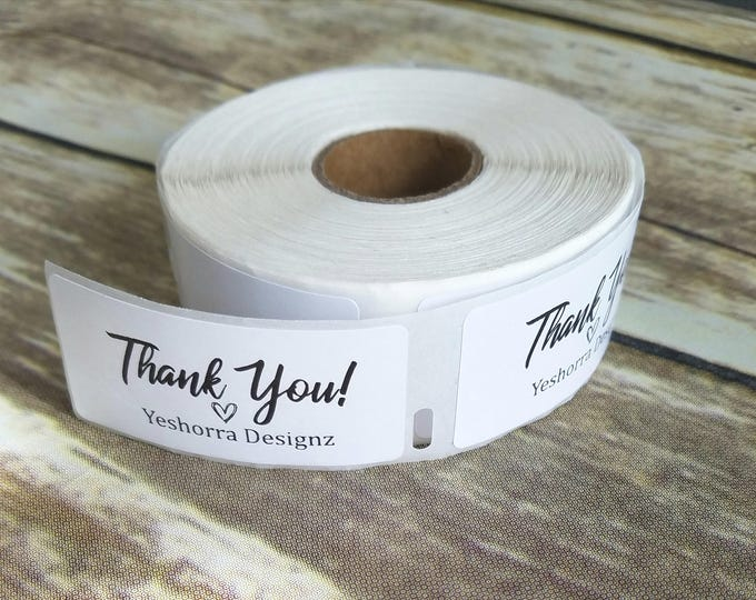 Personalized Thank You Labels, Customized Thank You Labels, Custom Thank You Stickers, Packaging Stickers, Favor Stickers, Favor Labels