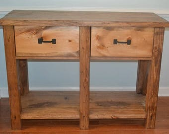 Two Drawer X Style Media Center