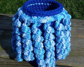 Crochet basket-crochet vase-crochet storage-basket-hand crochet basket-storage box-crocheted baskets-basket storage-baskets-storage basket