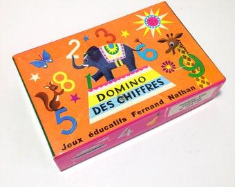 """Vintage Fernand Nathan """"Domino des chiffres"""""""