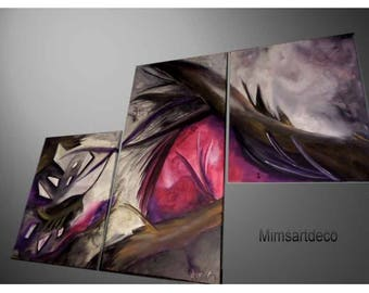 Abstract painting abstract tea Art personalized
