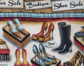 Boutique Shoe Sale Antipill Fleece (1.5 yards)