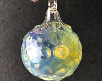 Silver fume with dots Ornament